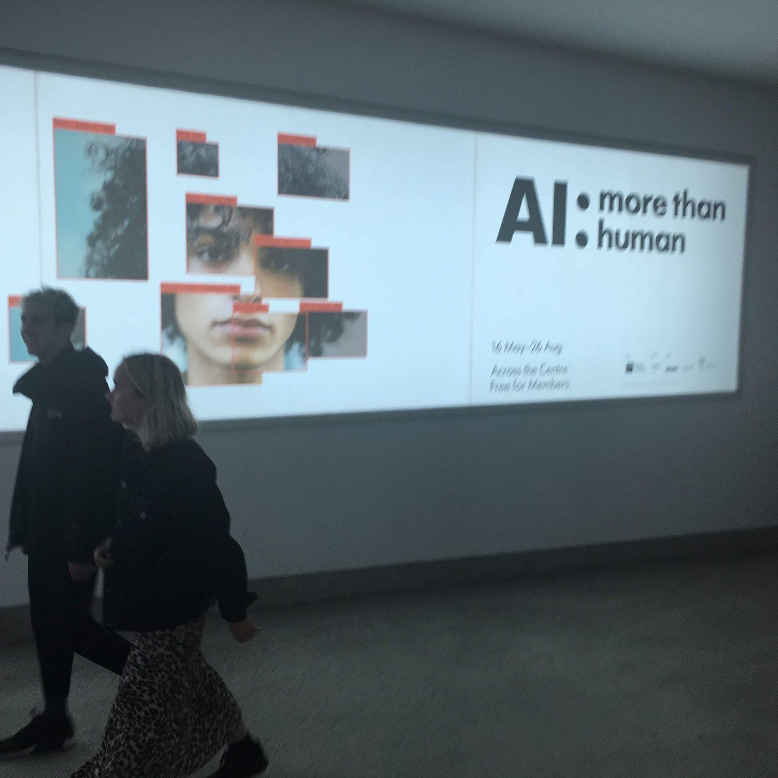 AI: More than Human display