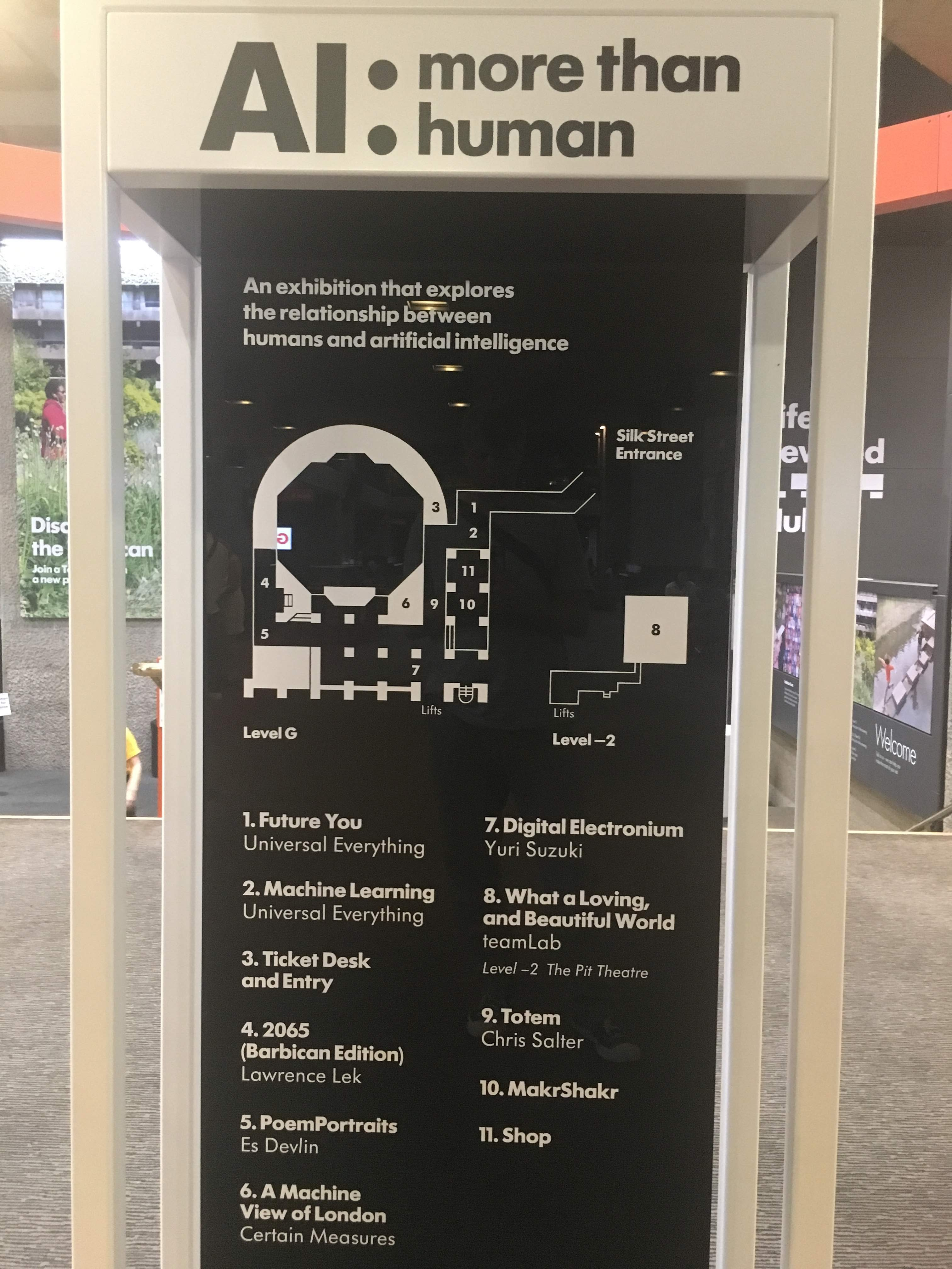 Wayfinding to AI: More than Human installations