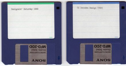 Spy Graphics floppy disks (1998)